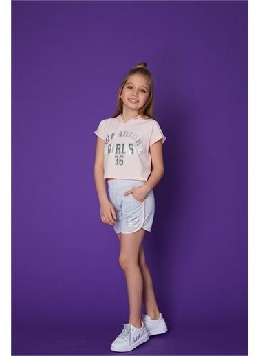 Little Star Little Star Kız Çocuk Warrior T-Shirt Pudra